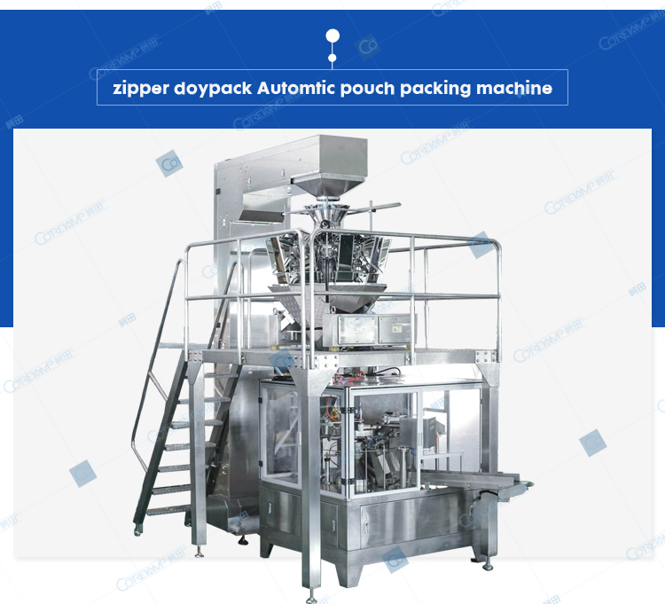 VT-8250 Zipper packing machine
