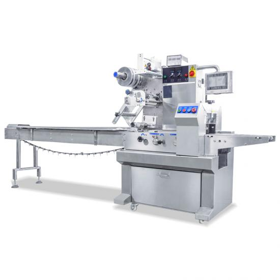 Coretamp automatic food Chocolate flow packaging machine