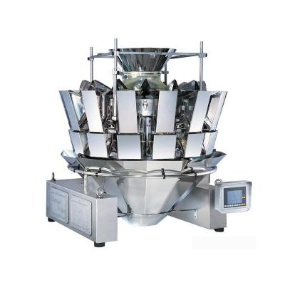 Multihead Weigher for Weighing Food Snacks Seeds Nuts Peanut 10 heads 14 heads
