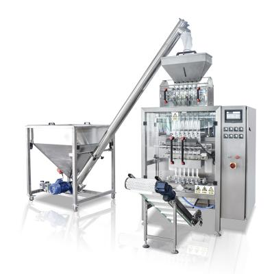 Multifunction High accuracy Multi-lane Automatic Granule Ice candy 3g 5g 7g Sugar packaging machine