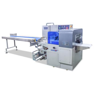 Automatic High speed Three servo frozen food/vegetable/poultry/chicken/meat packaging machine