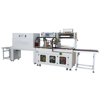 Fully automatic Pizza Egg Fruit Food side seal heat shrink wrapping packaging machine