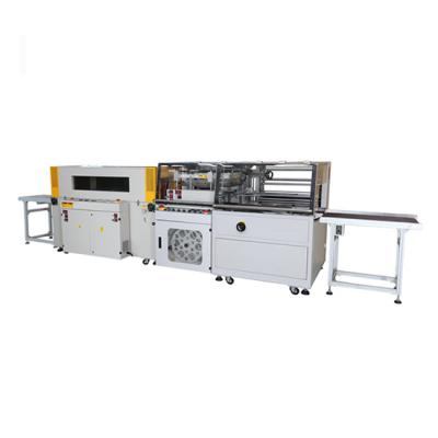 sealing and shrinking wrapping machine