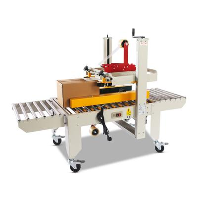 Horizontal E-commerce Automatic case side sealer Left and right drive carton box sealing packaging machine