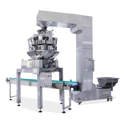 Full automatic weighing systems blister tray food chestnuts grains nuts packaging machine