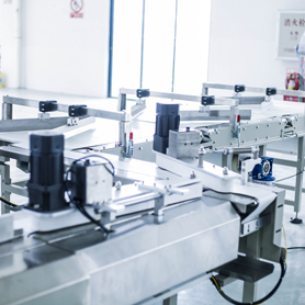 Fully automatic packaging line manufacturing workshop